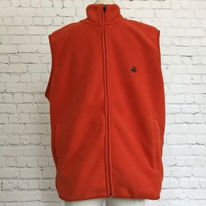 Brooks Brothers fleece vest